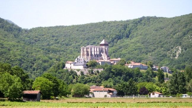 Saint-Bertrand de Comminges - vue générale