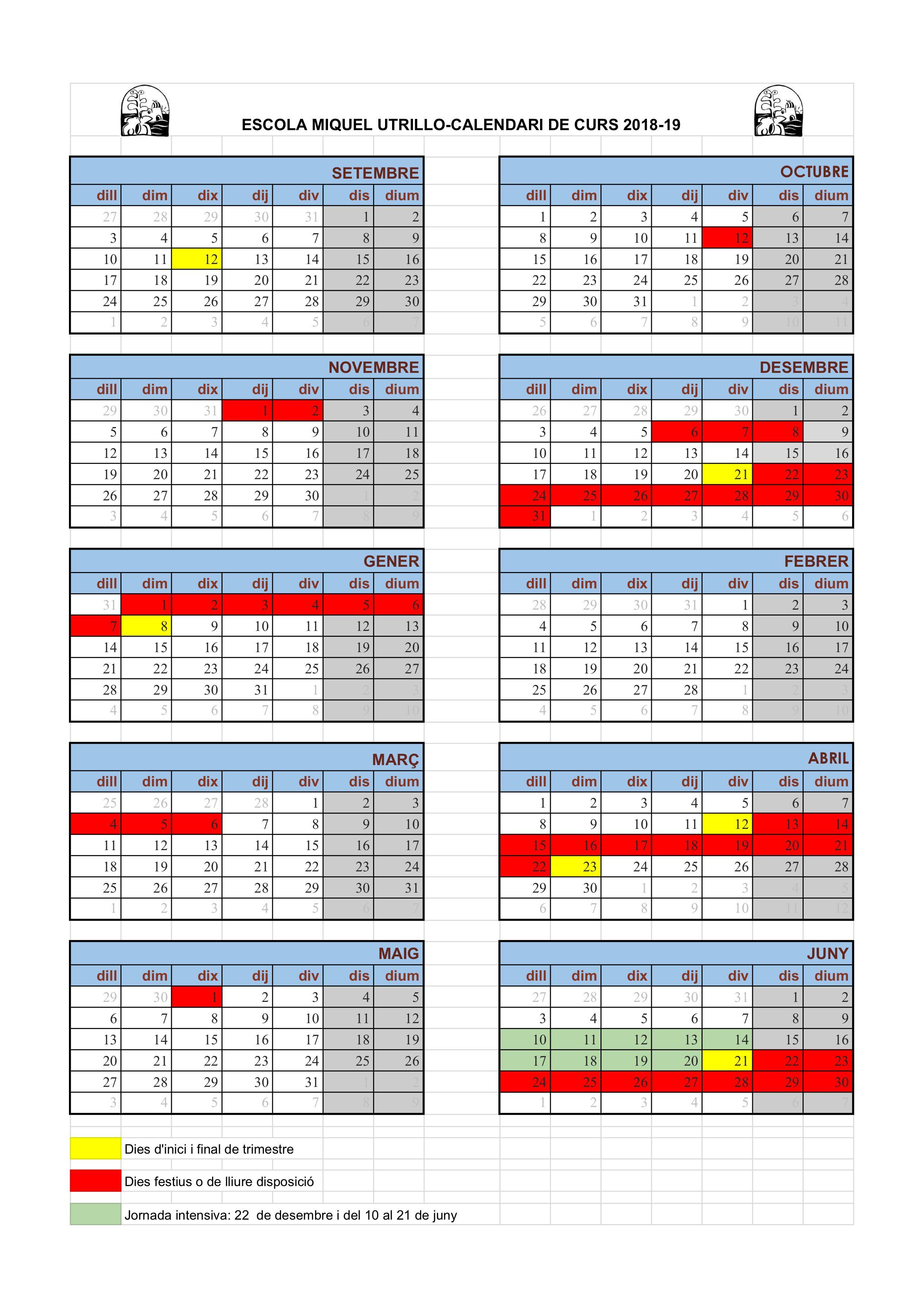 calendari curs 18-19 - Full 2