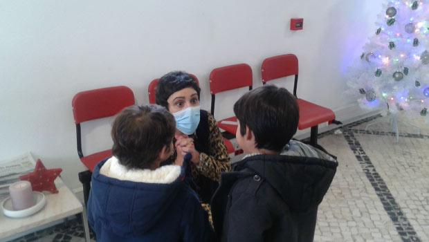 Junta de Freguesia Aradas - Visita Escola Pequeno Cidadão