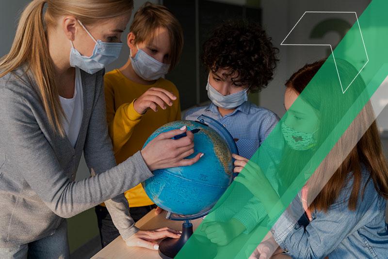 Efeitos da pandemia nas escolas do Brasil e no exterior