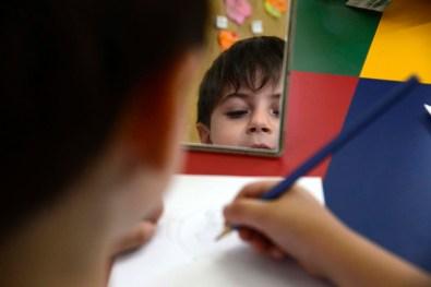 Autorretratos com espelhos – 1° ano