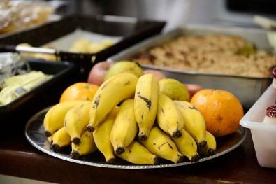 Frutas da estação para o lanche
