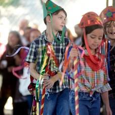 Arraiá bom que só. Festa Julina da Escola Terra Firme 2018. Curitiba/PR. Foto Gilson Camargo.