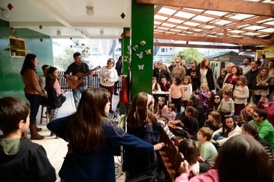 Show de Talentos no Dia da Família da Escola Terra Firme