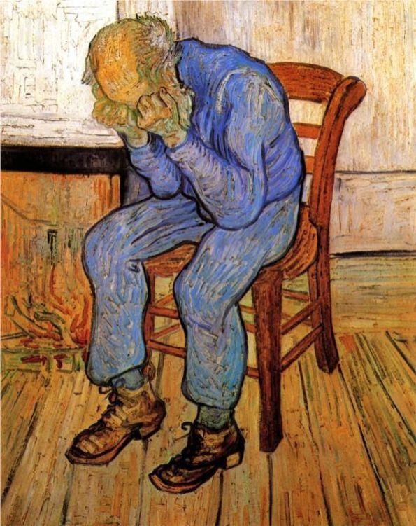 Vincent van Gogh: Tristeza, 1882.