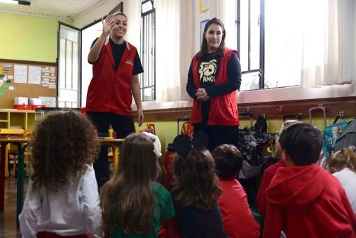 Fran Tockus e Isabela Marçal - Escola Terra Firme - 1° Ano F - Foto Gilson Camargo