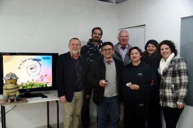 Elwino Naser, Félix Varejão, Aguinaldo dos Santos, Hermes Palumbo, Carmynha Santos, Liz Volino e Waleska Pacheco.