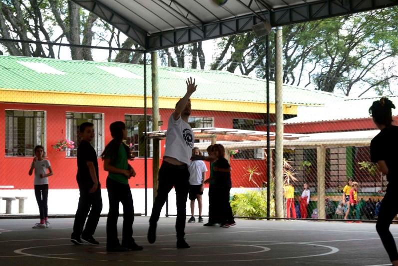 Escola Terra Firme - Educação Física, 6° Ano 2019, professor Leonardo Guadagnin- Foto Gilson Camargo