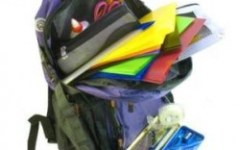 Economia durante as compras de material escolar