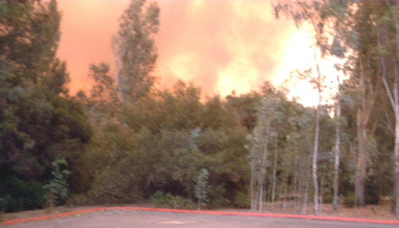 Burning Lake Hodges
