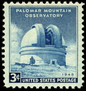 Palomar Mountain Observatory stamp.