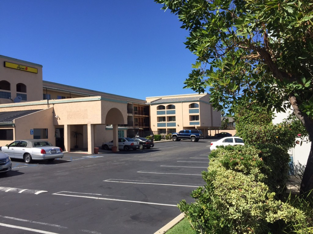 Center City Escondido motel parkings lot can be used for trade of the sexual favor kind, police say.