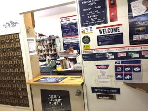 Pala Post Office inside Pala Store.
