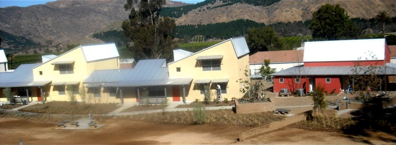 West side of San Pasqual Academy.