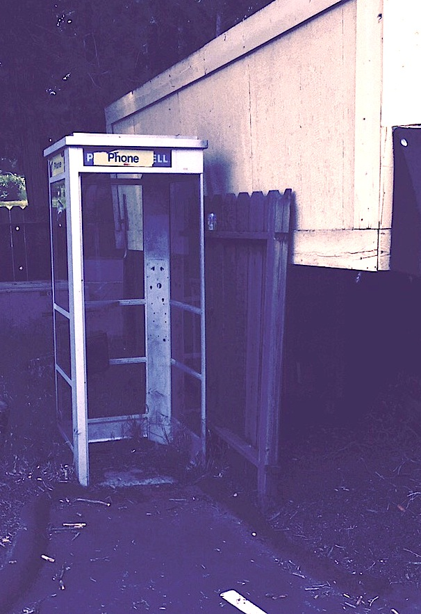 Palomar Mountain Store's payphone was taken out about two years during a dispute over phone fees.