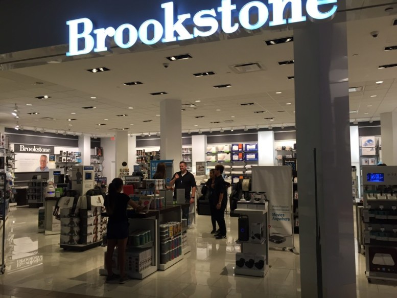 "Brookstone, #4 of=n the price overcharging list. Store manager Brian, declined to give his last name said with a laugh that this area of the mall was the 'Bermuda Triangle of Price Overcharging."" He said county inspectors had stopped by a year ago and found price discrepancies on smaller items near the cash register, adding the store was very consumer friendly and would make any bad price right."
