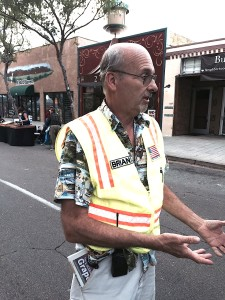 Brian Roth manages Kennedy & Associates Street Faire Consultants staging the street festival.