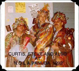 (L-R) Curtis Cottrell, Steve Howard and Chuck Alston aka Also Aswell.