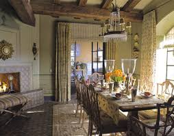 Provence style dining.