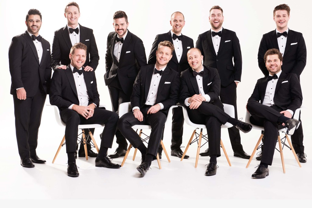 Ten -- count 'em -- Ten Tenors coming to California Center for the Arts, Escondido.