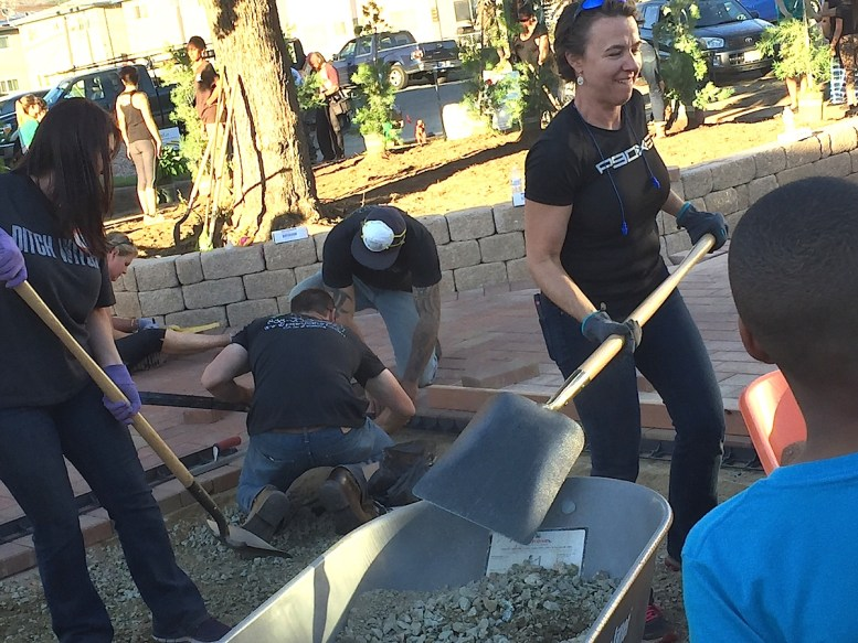 Bev Gallant and Sustainable Heroes transform Aster Gardens