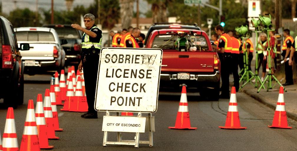 Escondido checkpoint