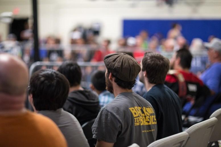 Crowd at Oceanside in september.