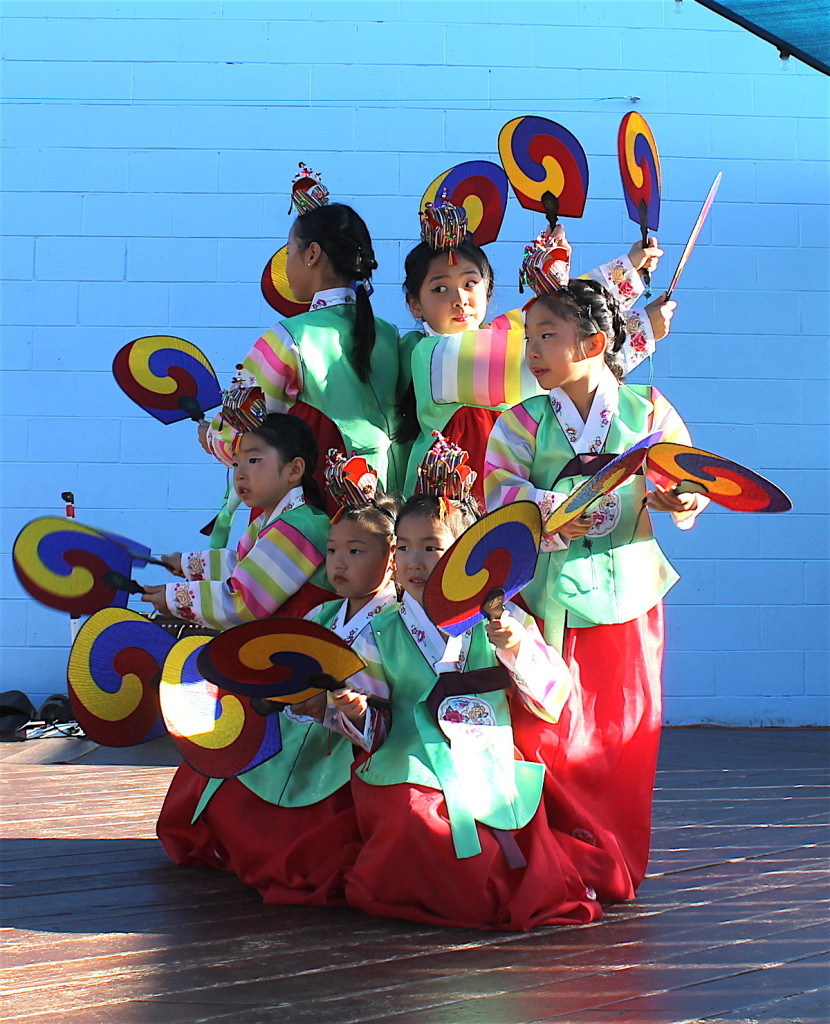 Dancing the San Diego Children's Discovery Museum fantastic.