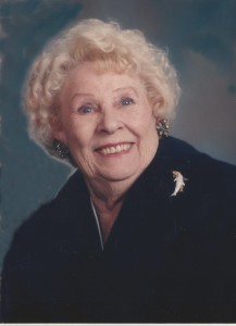 Bonsall Woman's Club founder Laverne Conrad, one of whose other claims to fame includes daughter Gail Golden.