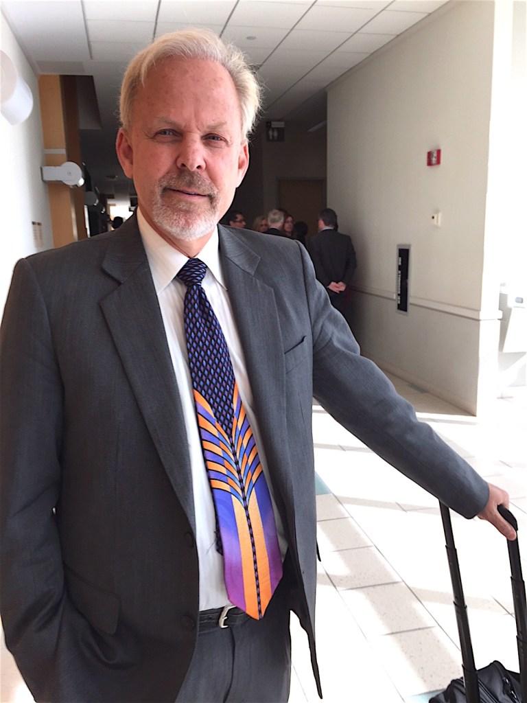 Robert O. Young at Vista Superior Court earlier this year.