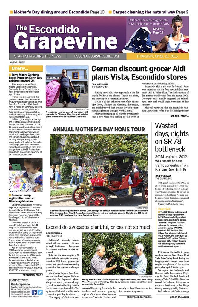 April 21 FRONT PAGE