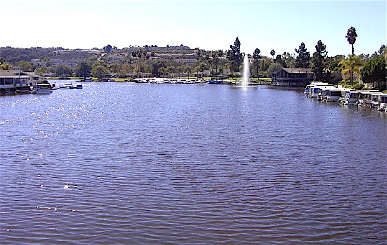 Often idyllic Lake San Marcos got a rude broken sewage pipe awakening this week.