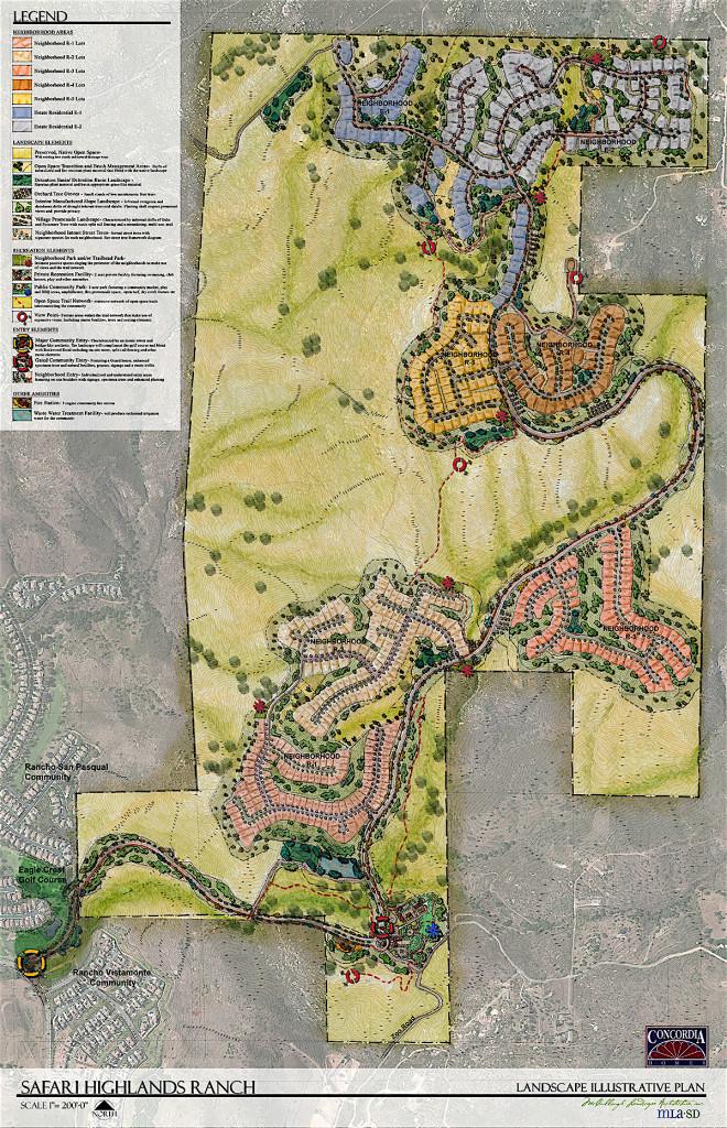 Proposed Safari Highlands Ranch.