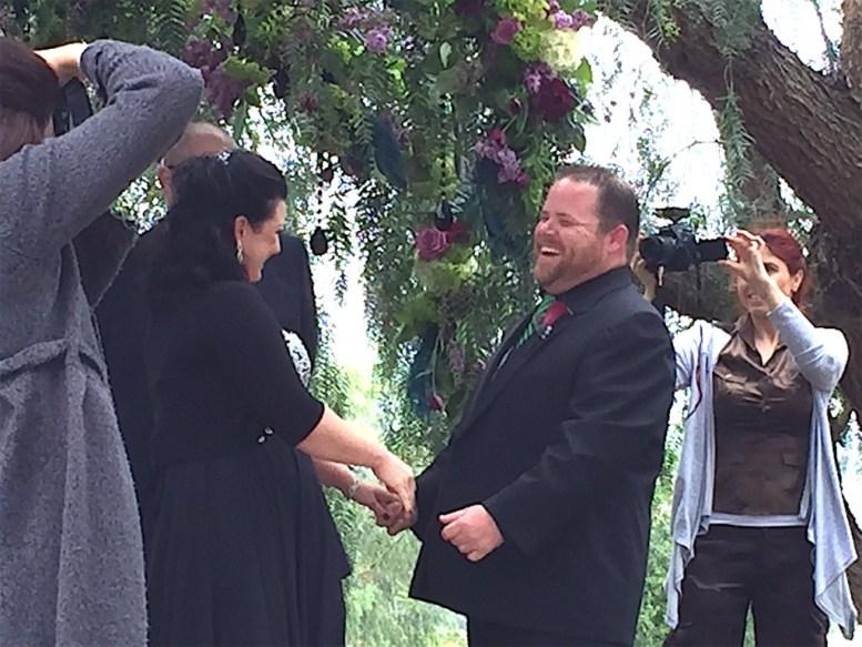 The joy of betrothing.