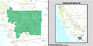 California 50th Congressional District or hereditary Hunter family fiefdom, you make the call.