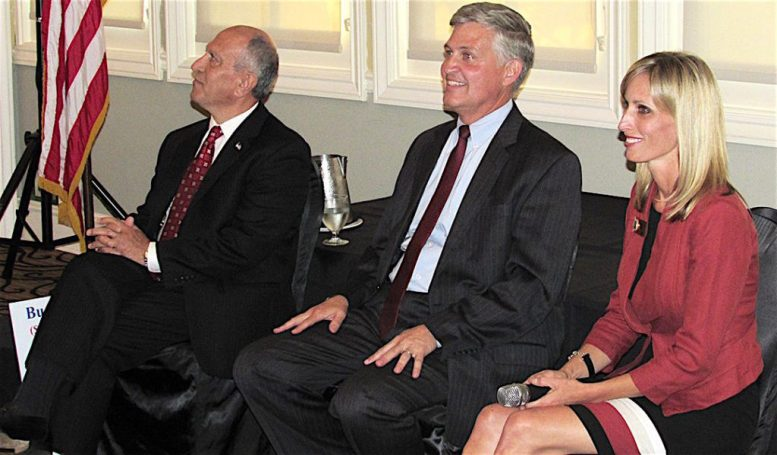 Three's Company: Abed to Roberts to Gaspar, looking to get down to two for the November election.