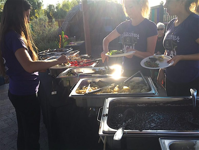 Sabor de Vida Brazilian Grill of Encinitas did the BBQ honors.