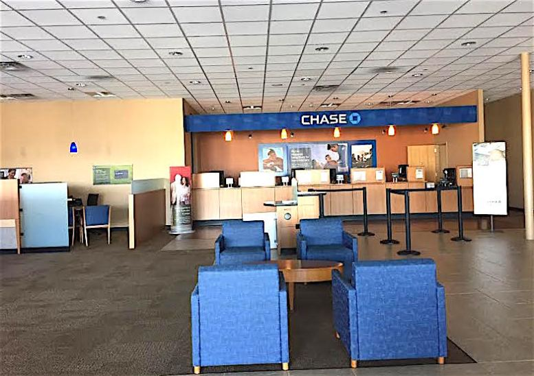 Chase Bank post-robbery on June 5.