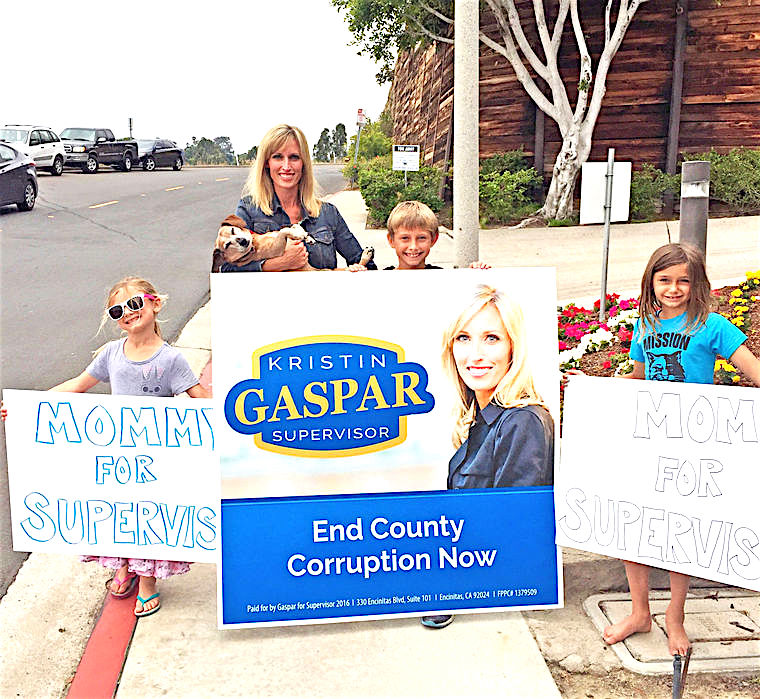 Kristin Gaspar is in the supervisor runoff. Sam Abed is not.
