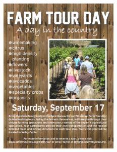 Time for Farm Tour 2016,