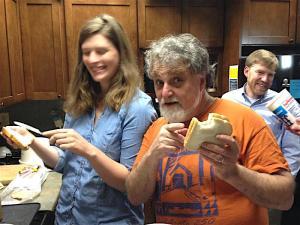 Celebrating fluffernutter sandwiches at Vermont Public Radio.