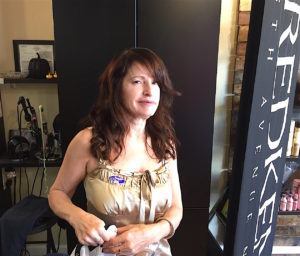 Maureen Muise at alter Ego Hair Studio Tuesday.
