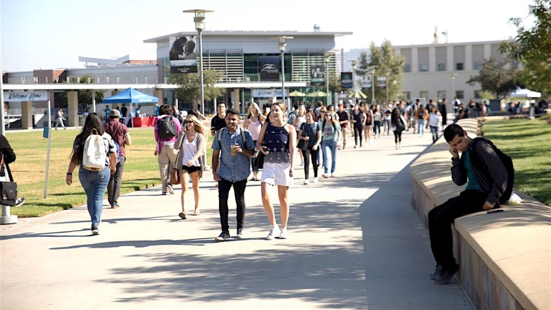 Csu San Marcos >> Back To School Cal State San Marcos Opens Year With Record