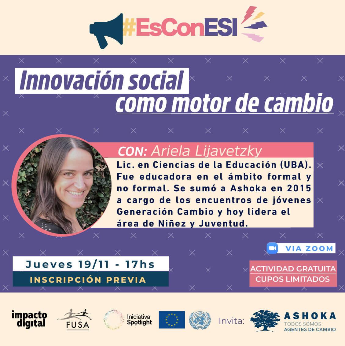 Flyer innovación social