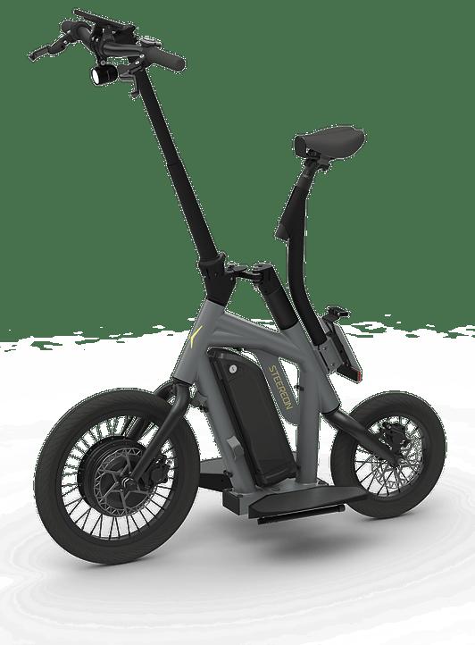 Steereon - ungewöhnlicher E Scooter mit Allradlenkung