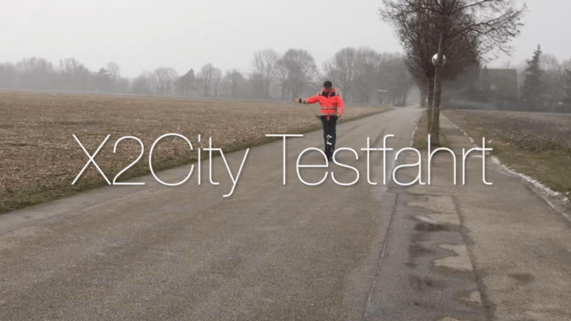 BMW X2 City Testfahrt
