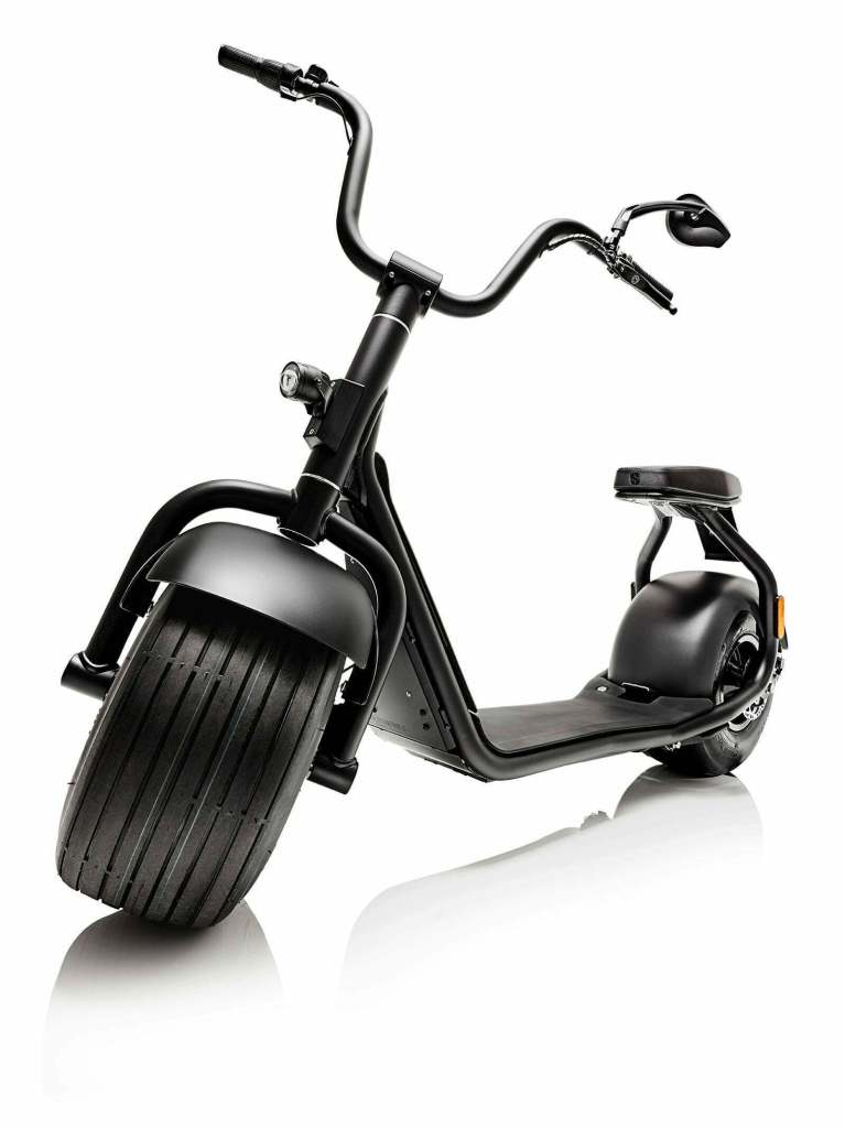 Scrooser: Die definitive E Scooter Harley