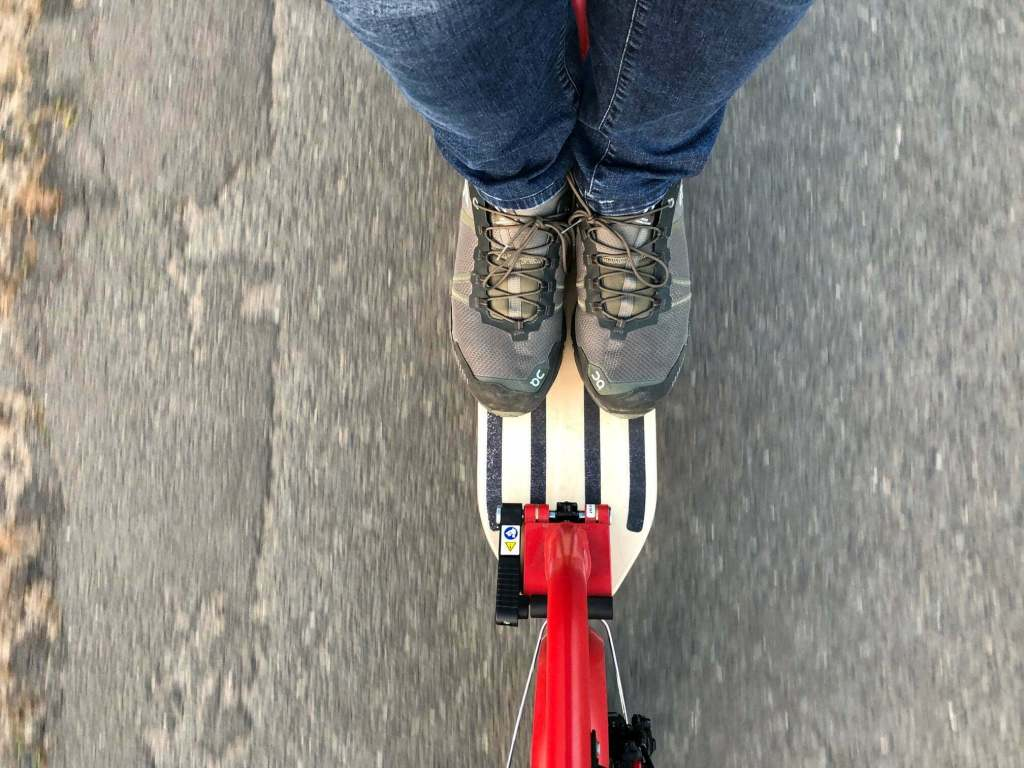 E Scooter Fahren