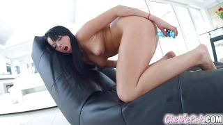 Givemepink anal dildo play for Tricia Teen