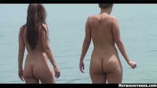 Nude beach HD Voyeur Females